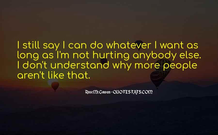 Rose McGowan Quotes #1366068
