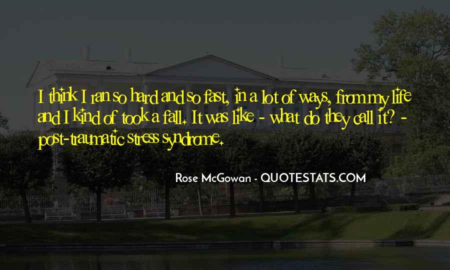 Rose McGowan Quotes #1383008