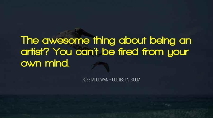 Rose McGowan Quotes #1451464