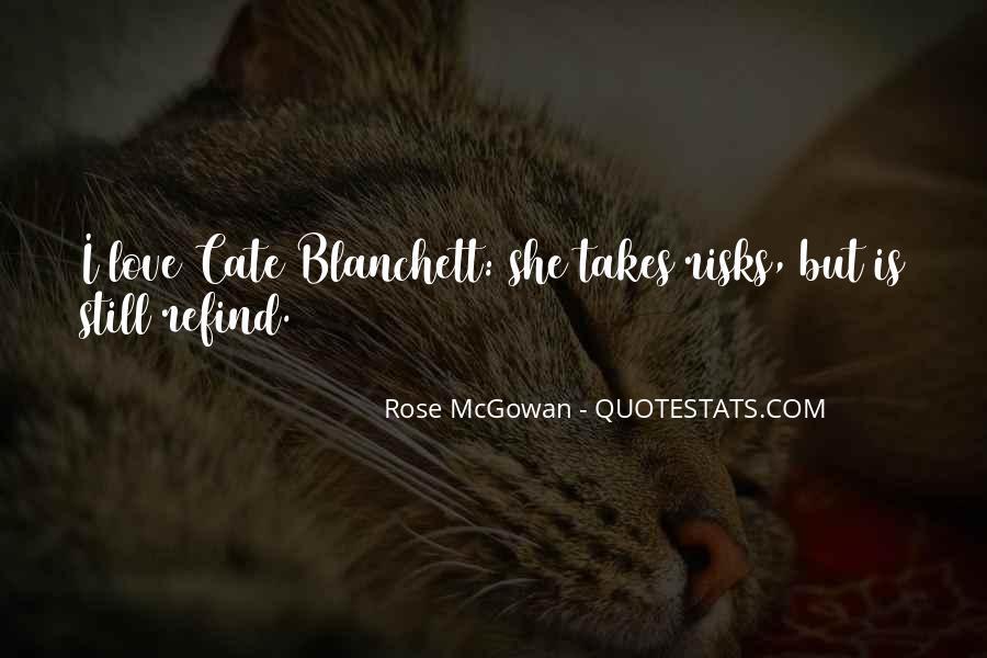 Rose McGowan Quotes #1645673