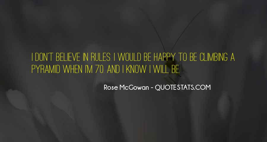 Rose McGowan Quotes #1664820