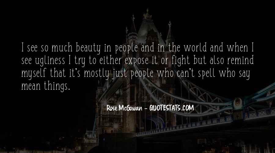Rose McGowan Quotes #178441