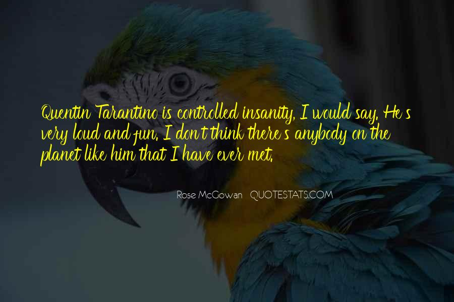 Rose McGowan Quotes #1790776