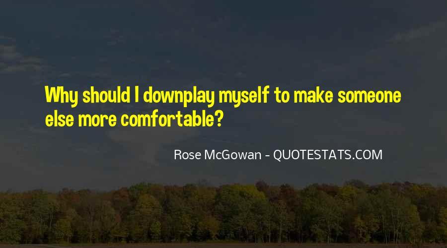 Rose McGowan Quotes #283704