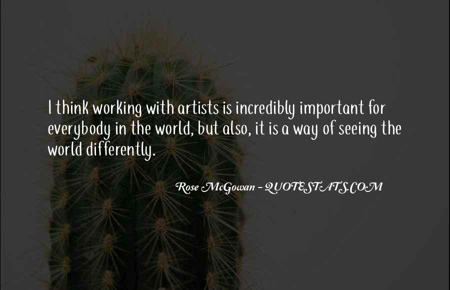 Rose McGowan Quotes #554017