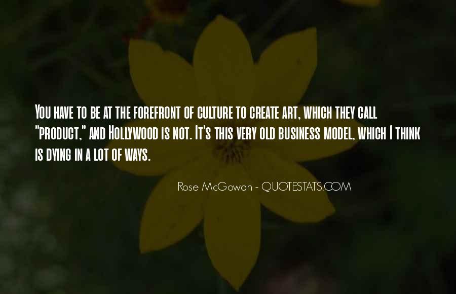 Rose McGowan Quotes #592661