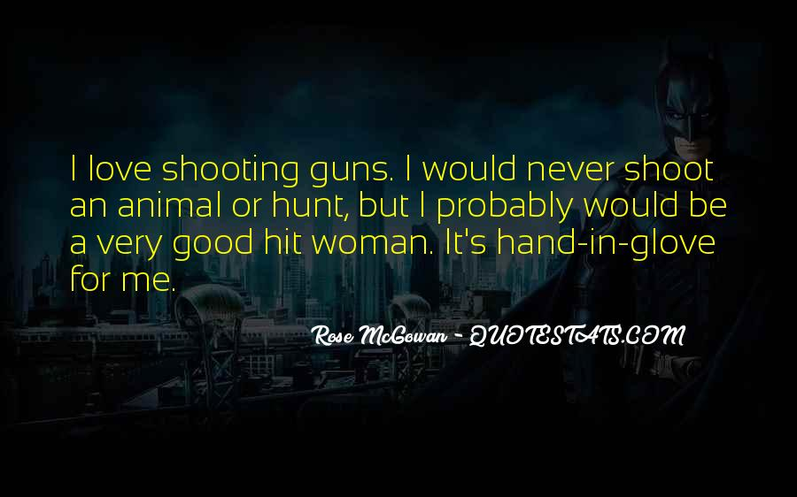 Rose McGowan Quotes #665246