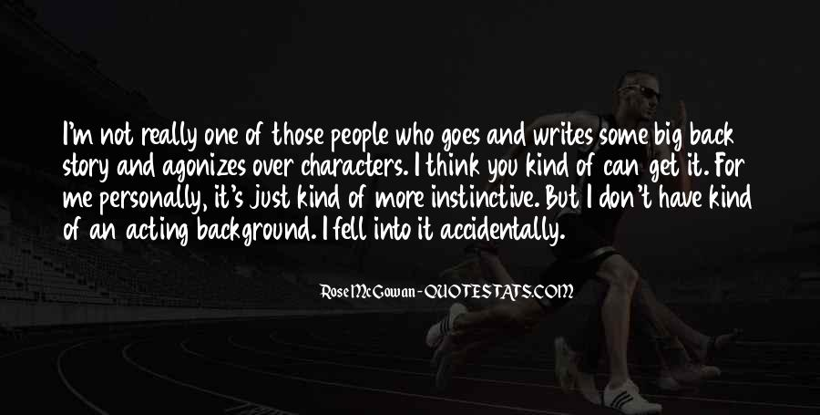 Rose McGowan Quotes #690599