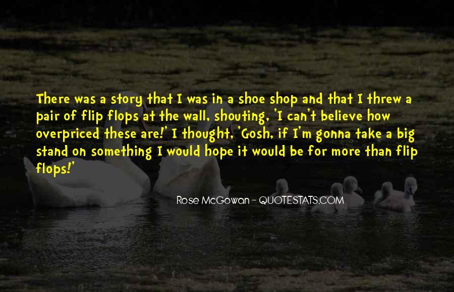 Rose McGowan Quotes #791230