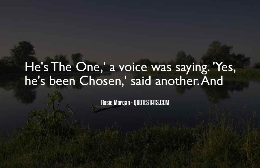 Rosie Morgan Quotes #1112982