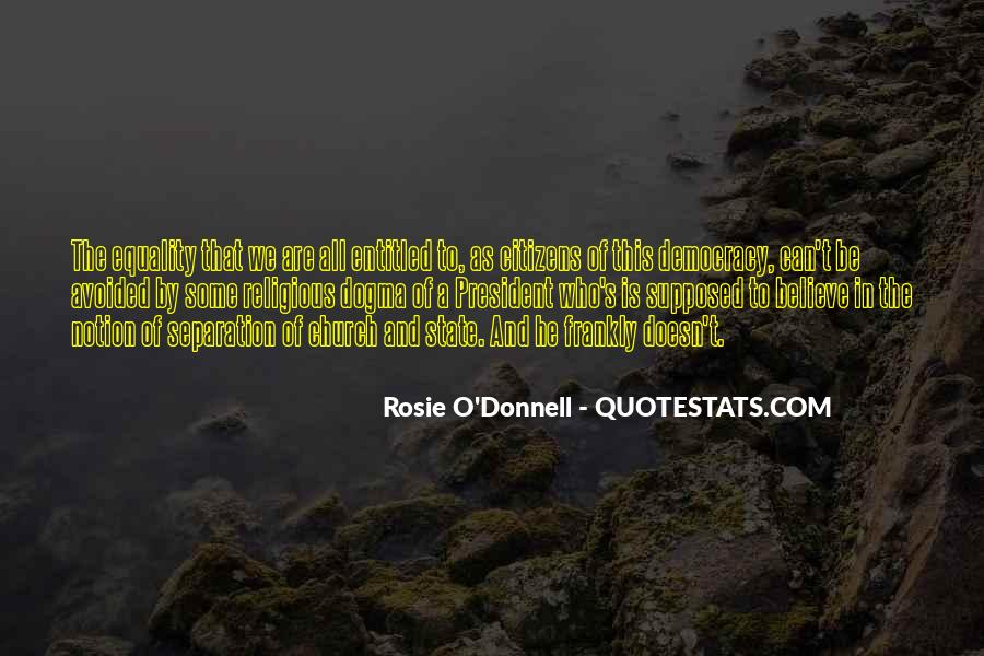 Rosie O'Donnell Quotes #1245498