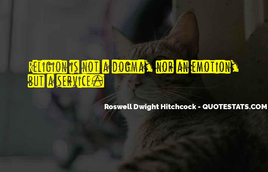 Roswell Dwight Hitchcock Quotes #1366877
