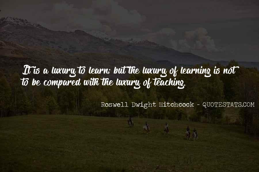 Roswell Dwight Hitchcock Quotes #1803006