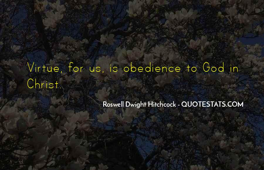 Roswell Dwight Hitchcock Quotes #586741