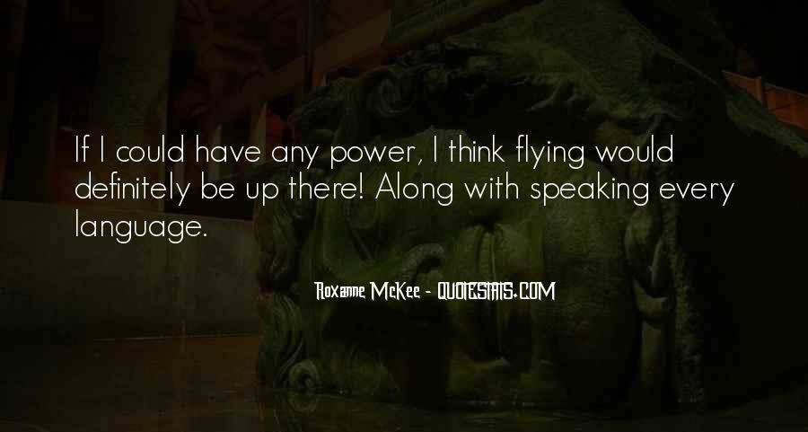 Roxanne McKee Quotes #1036457