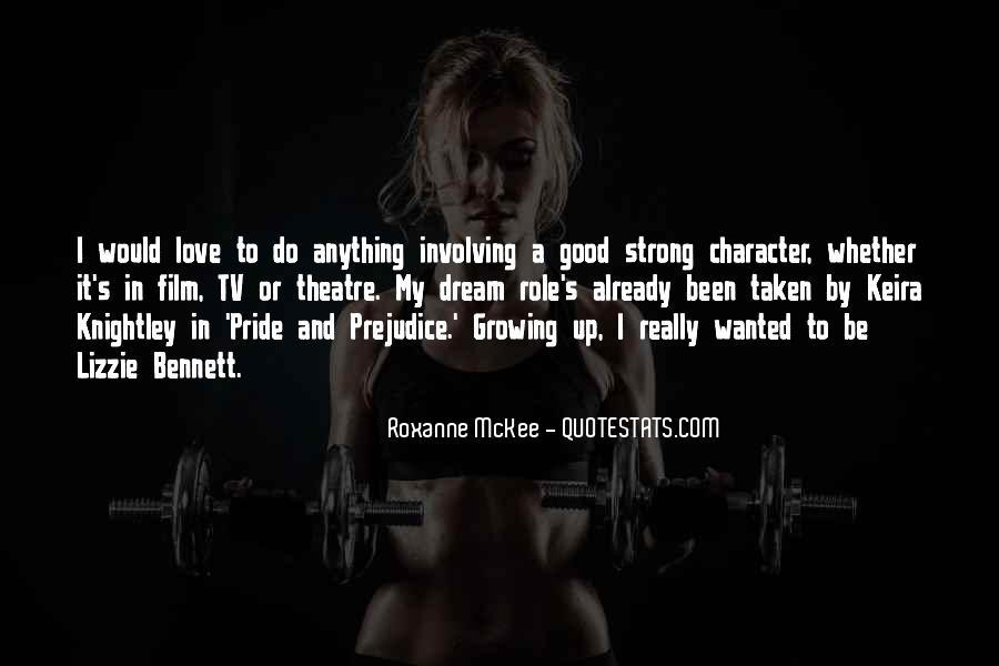 Roxanne McKee Quotes #1061497
