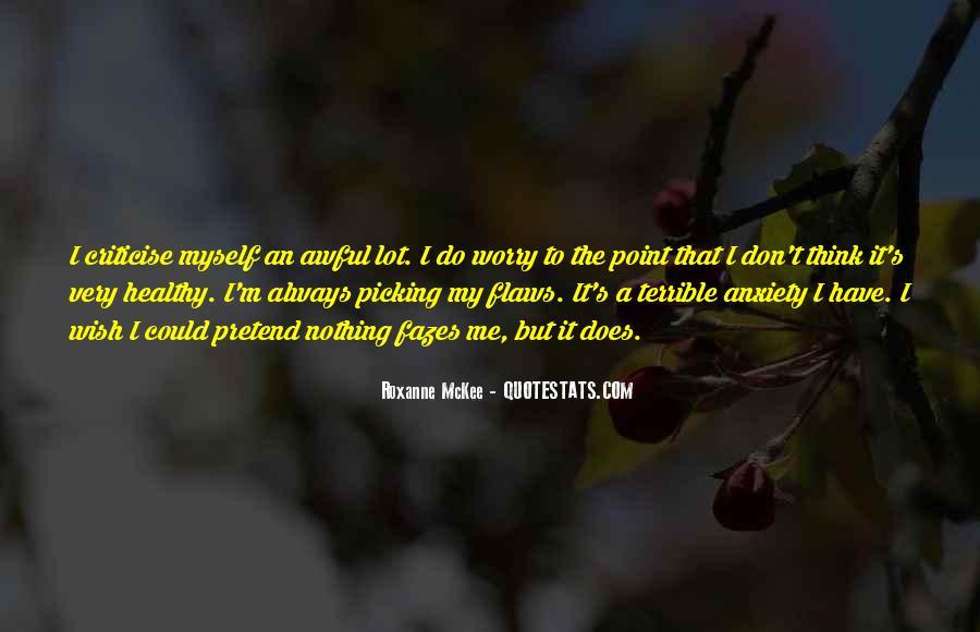 Roxanne McKee Quotes #234352
