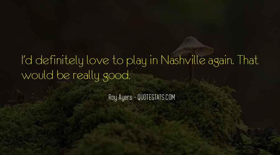 Roy Ayers Quotes #1102085
