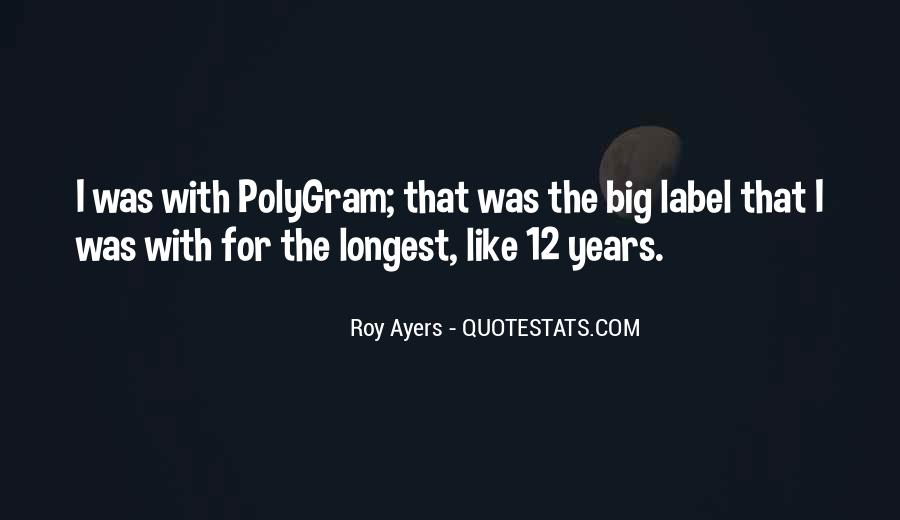 Roy Ayers Quotes #1775384