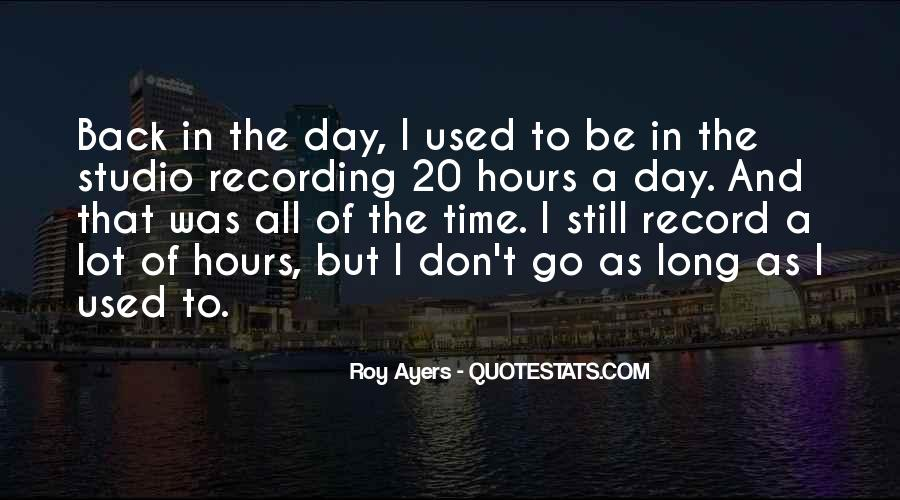 Roy Ayers Quotes #406792