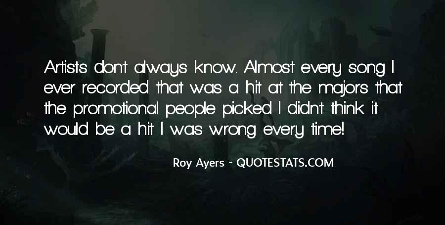 Roy Ayers Quotes #84274