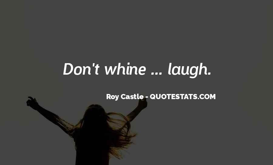 Roy Castle Quotes #1425478
