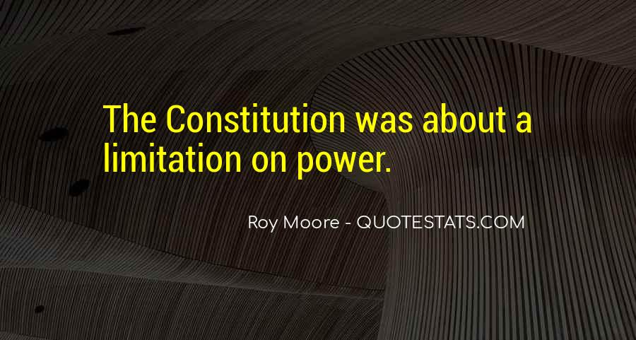 Roy Moore Quotes #1618849