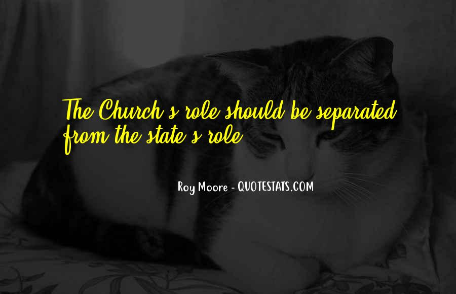 Roy Moore Quotes #5087
