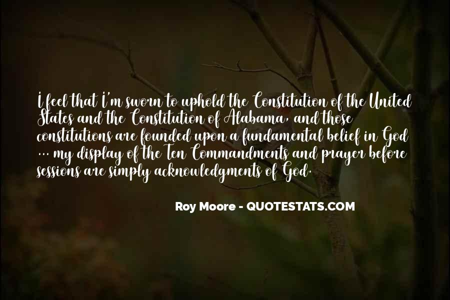 Roy Moore Quotes #784646