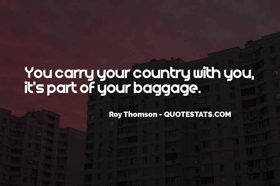 Roy Thomson Quotes #256848