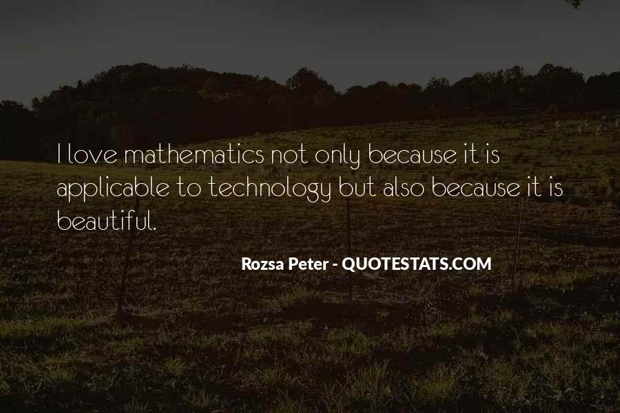 Rozsa Peter Quotes #1301614