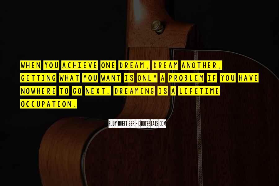 Rudy Ruettiger Quotes #1491017
