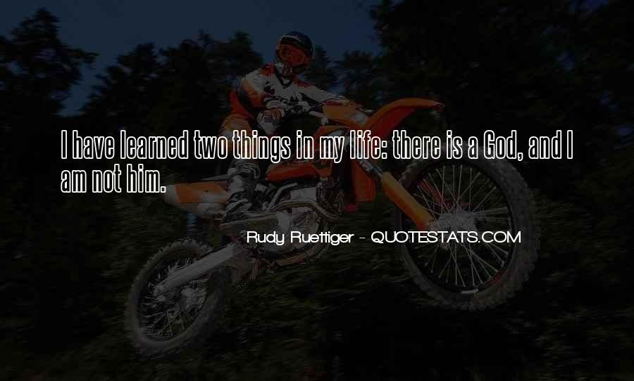 Rudy Ruettiger Quotes #1721234
