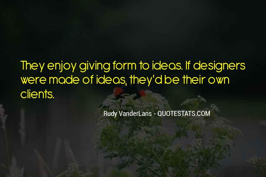 Rudy VanderLans Quotes #211249