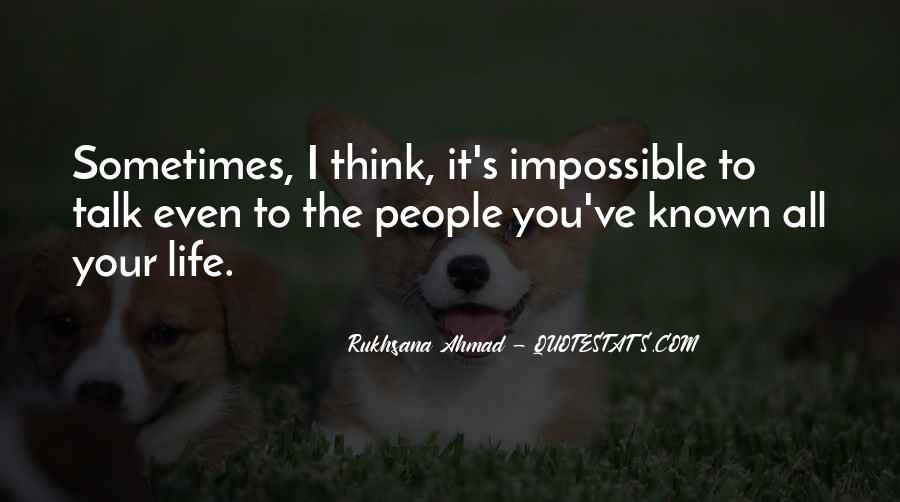 Rukhsana Ahmad Quotes #858814