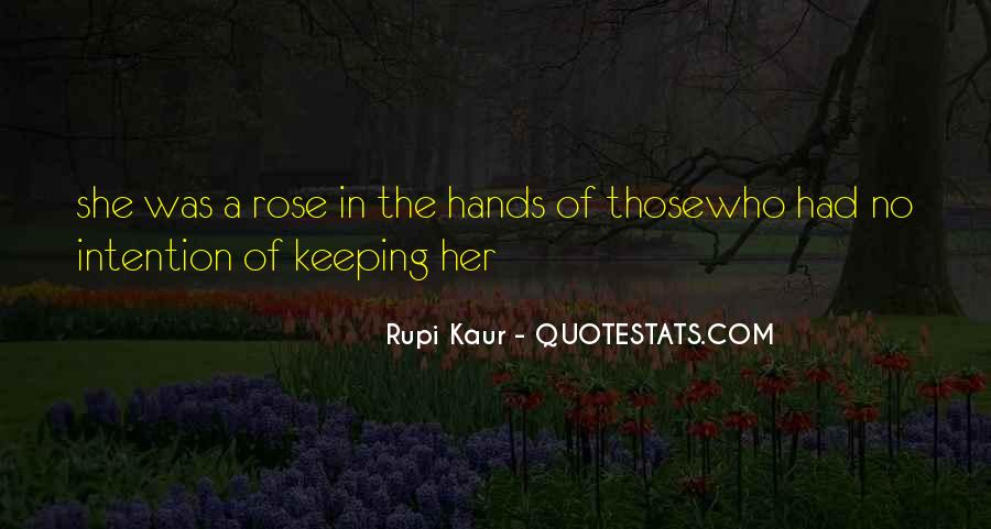 Rupi Kaur Quotes #1085119