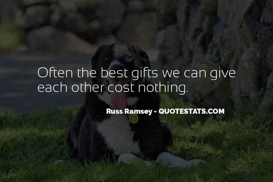 Russ Ramsey Quotes #1073142