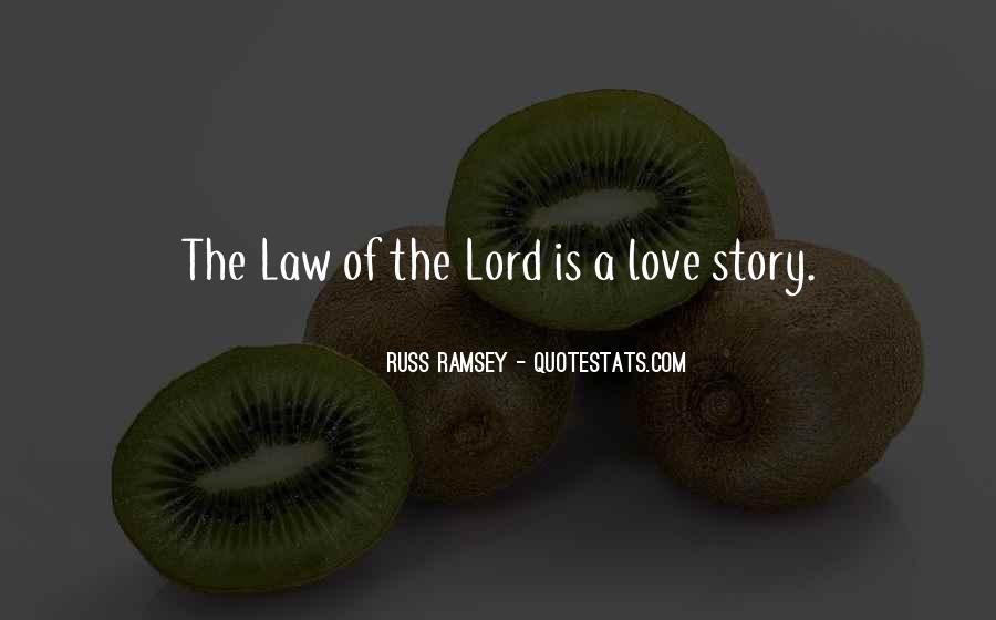 Russ Ramsey Quotes #1335958