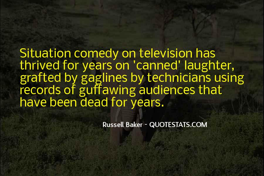 Russell Baker Quotes #1002320