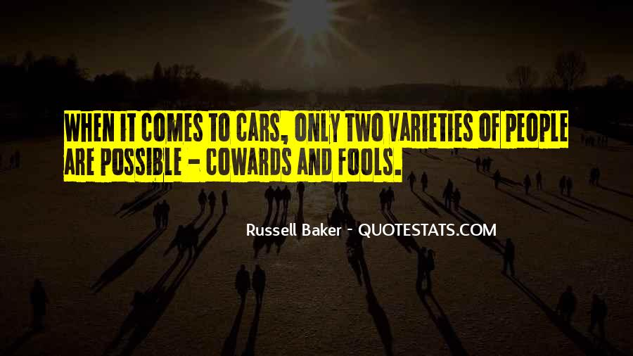 Russell Baker Quotes #1037342