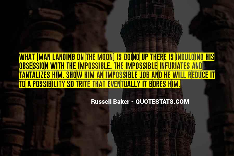 Russell Baker Quotes #1084326