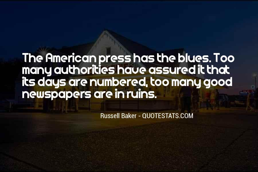 Russell Baker Quotes #1169777