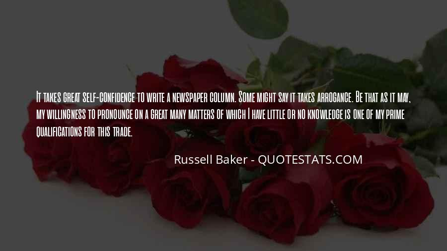 Russell Baker Quotes #1182251