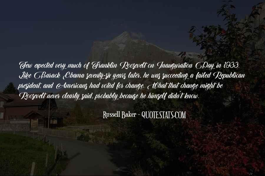 Russell Baker Quotes #1382707