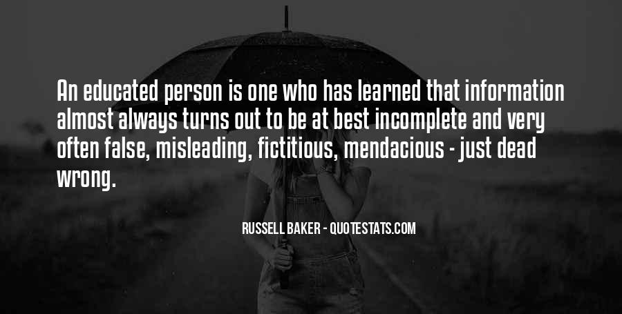 Russell Baker Quotes #1412159