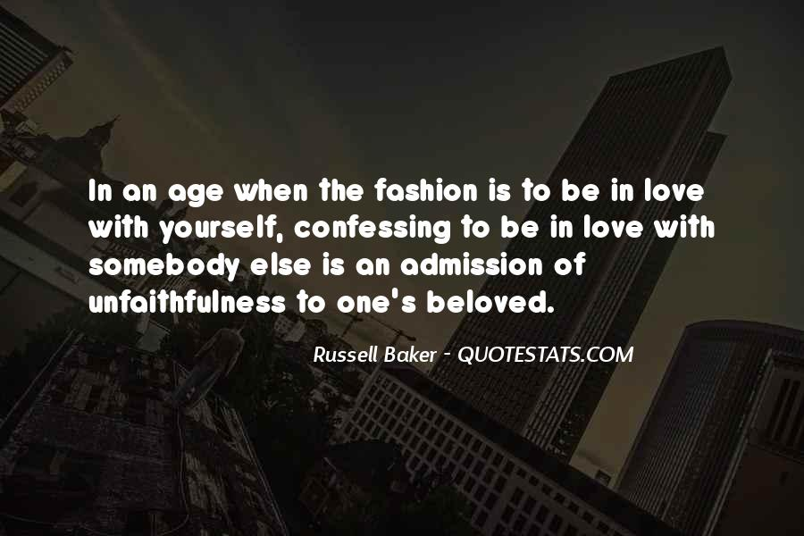 Russell Baker Quotes #1494861