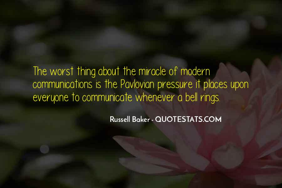 Russell Baker Quotes #1633774