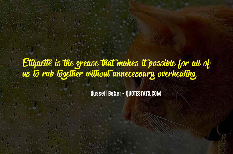 Russell Baker Quotes #1800566