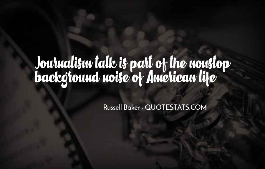 Russell Baker Quotes #1811907