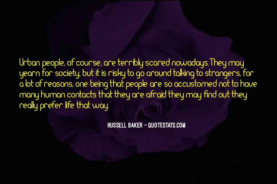 Russell Baker Quotes #261460